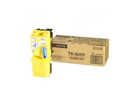 Продать картридж TK-820Y (желтый)